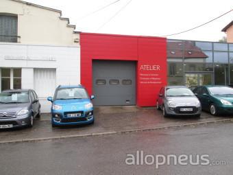 Pneu frouard garage citroen centre de montage allopneus for Garage citroen bourg de peage