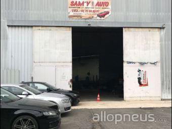 centre montage de pneus VAUX LE PENIL