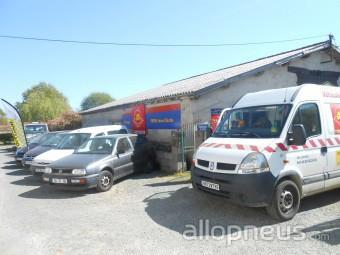 centre montage de pneus LA MERLATIERE