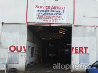 Pneu pessac service auto 21 centre de montage allopneus for Garage auto pessac alouette