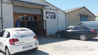 centre montage de pneus NISSAN LEZ ENSERUNE