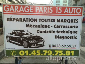 centre montage de pneus PARIS