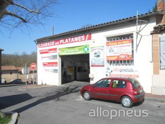 Pneu merville garage des platanes centre de montage for Garage des platanes