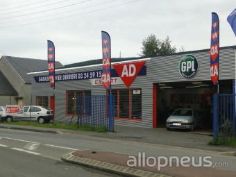 Pneu nouzonville garage olivier derriere ad centre for Garage ad pneu