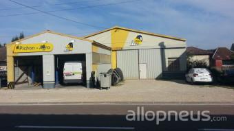 Pneu jasseines garage pichon centre de montage allopneus for Garage montage pneu
