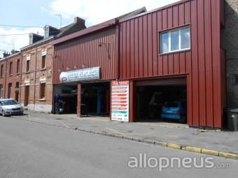Pneu raismes garage de la gare centre de montage for Garage de la gare pontault