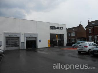 Pneu somain del 39 autos agent renault dacia centre for Garage renault promotion pneus