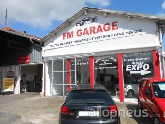 Pneu dax fm garage centre de montage allopneus for Garage fm auto roncq avis