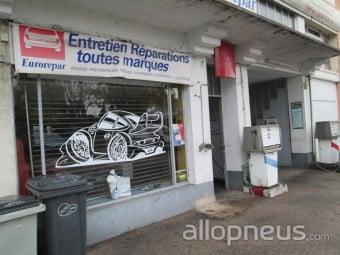 centre montage de pneus CHANTEHEUX