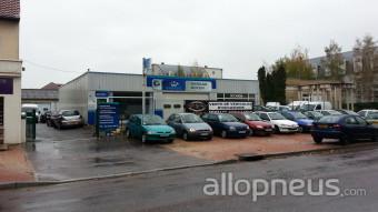 Pneu dijon garage soyer centre de montage allopneus for Garage ad pneu