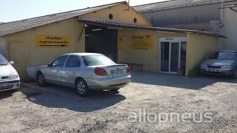 Pneu p zenas garage fc centre de montage allopneus for Garage delvaux pezenas