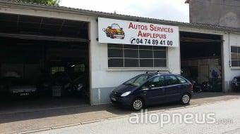 centre montage de pneus AMPLEPUIS