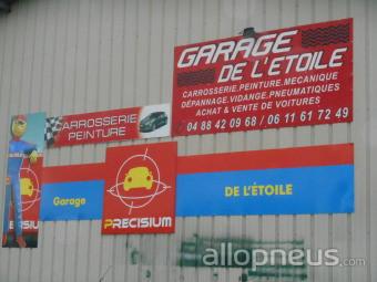 Pneu roquevaire garage de l 39 etoile centre de montage for Garage de l etoile villetaneuse
