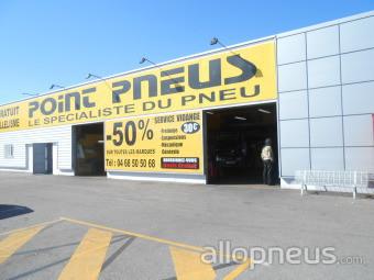centre montage de pneus CABESTANY
