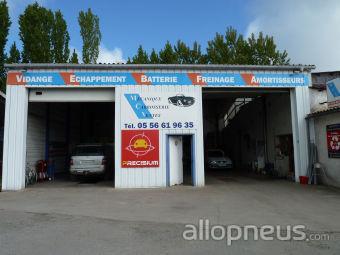 centre montage de pneus MOURENS