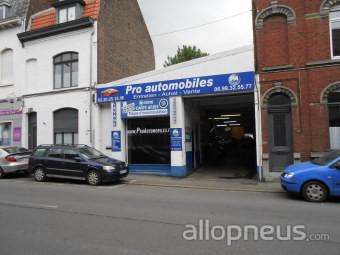 Pneu mouvaux pro automobiles centre de montage allopneus for Garage fm auto roncq avis