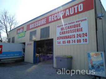 centre montage de pneus BRESSUIRE, ST SAUVEUR