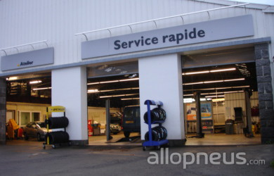 centre montage de pneus LE CONQUET