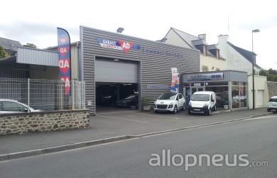 Pneu lamballe lamball 39 garage centre de montage allopneus for Garage montage pneu