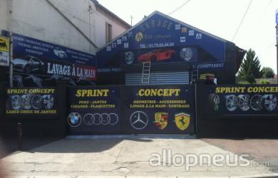 pneu stains sprint auto centre de montage allopneus ForGarage Sprint Auto Stains