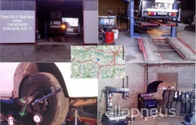 centre montage de pneus MOYRAZES