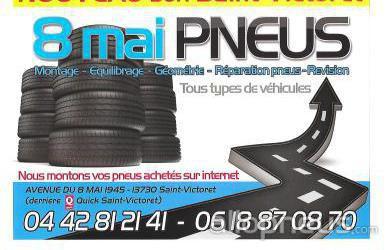 centre montage de pneus ST VICTORET