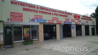 centre montage de pneus GUITRANCOURT