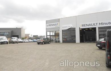 Pneu seysses renault seysses centre de montage allopneus for Garage renault seysses