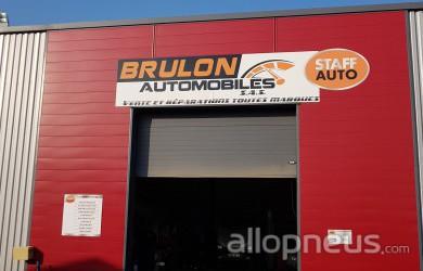 centre montage de pneus BRULON