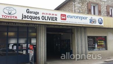 centre montage de pneus TENCE