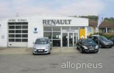 Pneu bren garage perollier centre de montage allopneus for Garage renault saint memmie