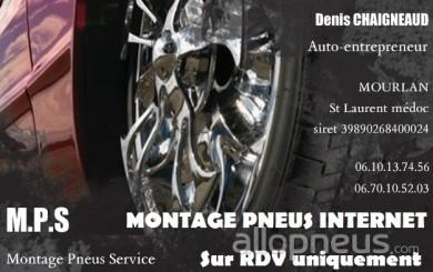 centre montage de pneus ST LAURENT MEDOC