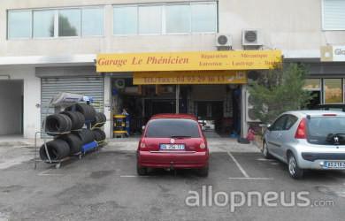 Pneu carros garage le phenicien centre de montage for Garage reignier alpes pneus