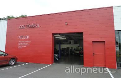 centre montage de pneus SALBRIS