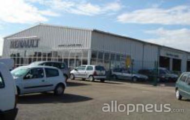 centre montage de pneus PLOUGONVELIN