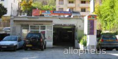 Pneu nice garage des fleurs centre de montage allopneus for Garage nice centre