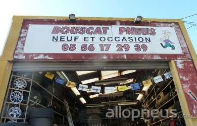 centre montage de pneus LE BOUSCAT