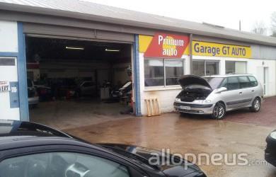 Pneu gasny gt auto centre de montage allopneus for Montage piece auto garage