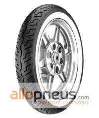 Pneu Dunlop K177 FLANC BLANC