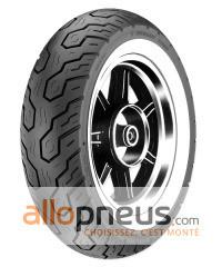 Pneu Dunlop K555 FLANC BLANC