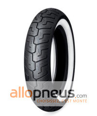 Pneu Dunlop D401F WWW FLANC BLANC 100/90R19 57H TL,WWW,Avant,Diagonal,HARLEY DAVIDSON