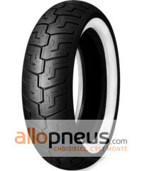 Pneu Dunlop D401 FLANC BLANC