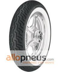 Pneu Dunlop D402 FLANC SEMI-BLANC