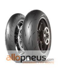 Pneu Dunlop SPORTMAX D212 GP PRO 190/55R17 75W TL,Arrière,Radial,mélange gomme 4