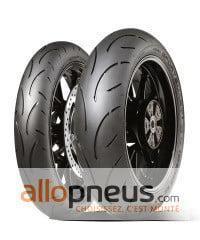 2 pneus differents moto