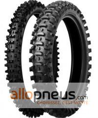 Pneu Bridgestone BATTLECROSS X10 80/100R21 51M TT,Avant,Diagonal,Sable