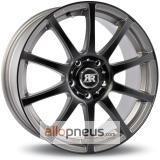 Racer Wheels Axis gris face noir