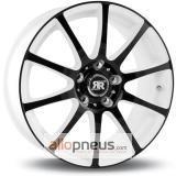 Racer Wheels Axis Blanc face noir
